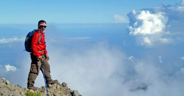 Mount Rinjani Summit 3726 m dpl