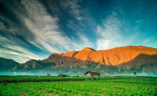 Sembalun Lawang altitude 1150 m of Mount Rinjani National Park